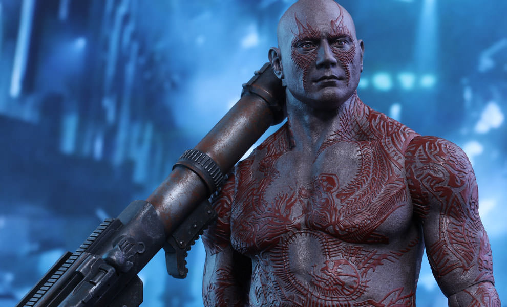 Gallery Feature Image of Drax the Destroyer Sixth Scale Figure - Click to open image gallery