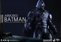 Gallery Image of Armored Batman Black Chrome Version Sixth Scale Figure