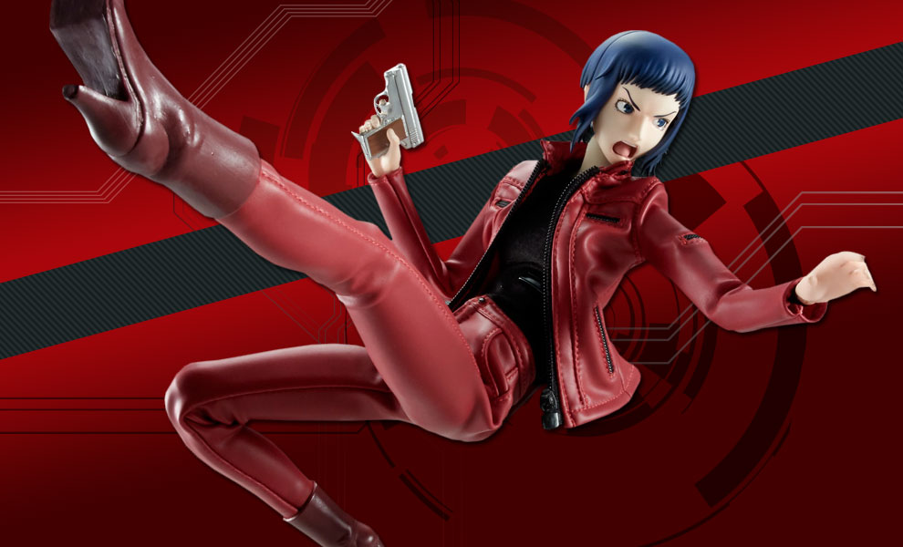 Gallery Feature Image of Motoko Kusanagi Sixth Scale Figure - Click to open image gallery