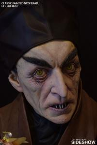 Gallery Image of Classic Painted Nosferatu Life-Size Bust
