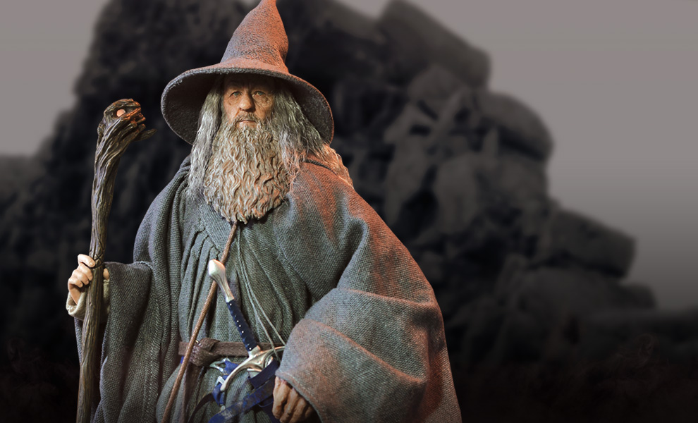 Gallery Feature Image of Gandalf the Grey Sixth Scale Figure - Click to open image gallery