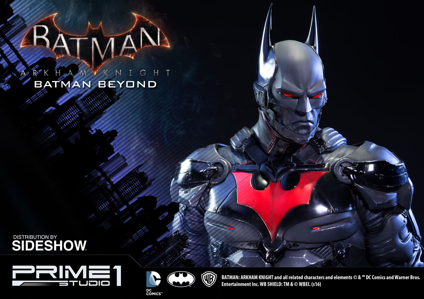 Dc Comics Batman Beyond Polystone Statue By Prime 1 Studio Sideshow