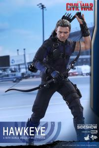 Gallery Image of Hawkeye Sixth Scale Figure