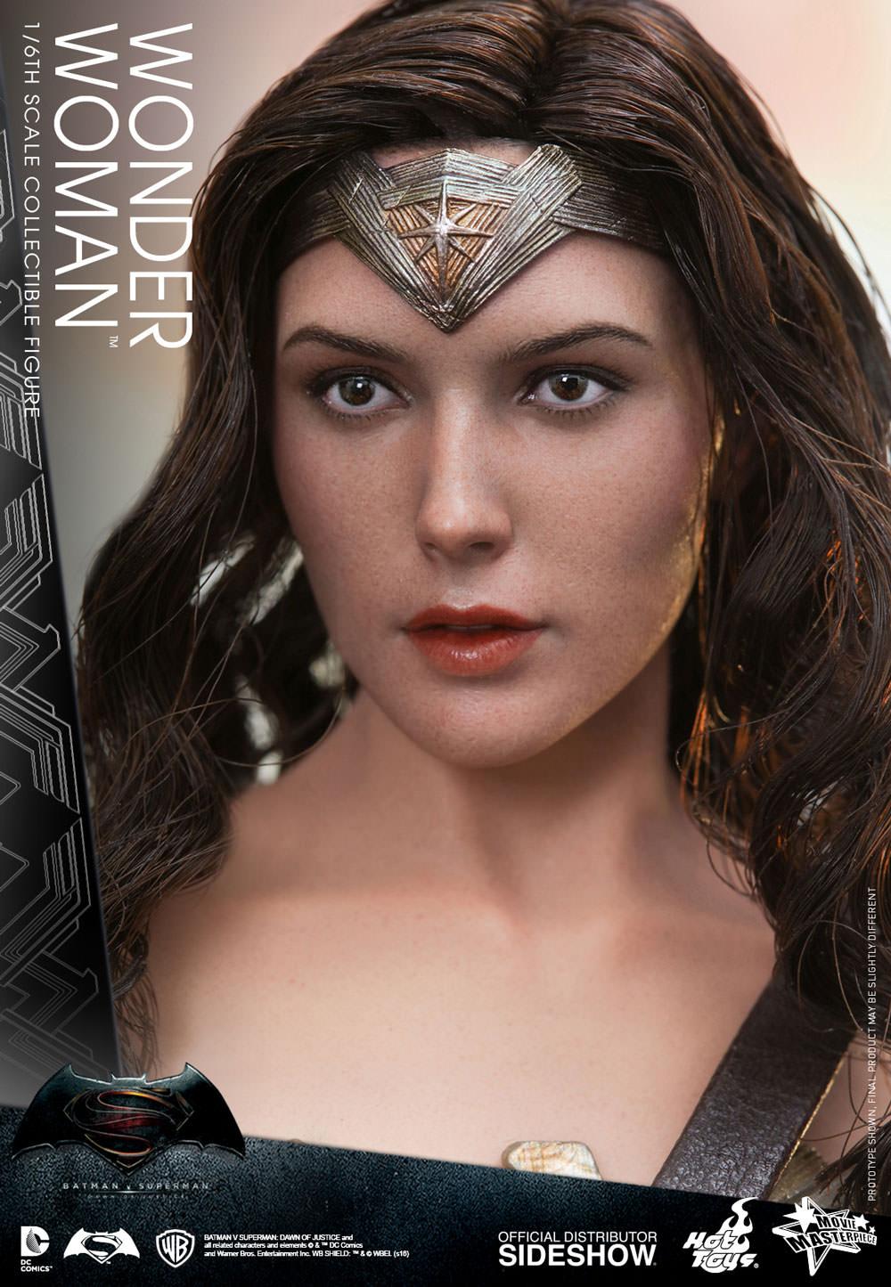 Female Head Sculpt in Gal Galdot Likeness 1//6 Scale Toy Wonder Woman