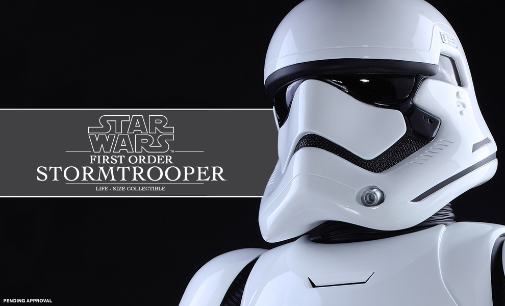 Gallery Feature Image of First Order Stormtrooper Life-Size Figure - Click to open image gallery