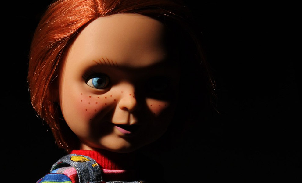 Gallery Feature Image of Good Guys Chucky Talking Doll Collectible Figure - Click to open image gallery