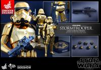 Gallery Image of Stormtrooper Gold Chrome Version Sixth Scale Figure