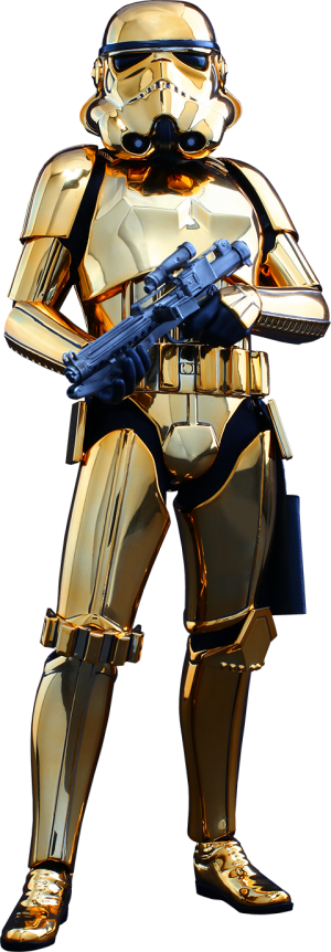 Stormtrooper Gold Chrome Version Sixth Scale Figure