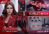 Gallery Image of Scarlet Witch New Avengers Version Sixth Scale Figure