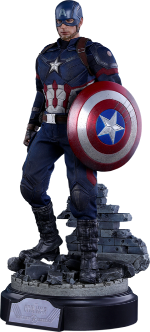 Captain America Battling Version Sixth Scale Figure