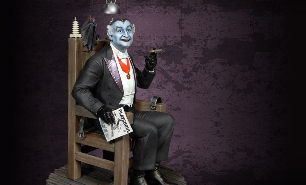 Gallery Feature Image of Grandpa Munster Deluxe Maquette - Click to open image gallery