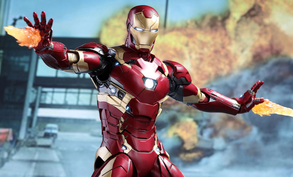 Gallery Feature Image of Iron Man Mark XLVI Sixth Scale Figure - Click to open image gallery