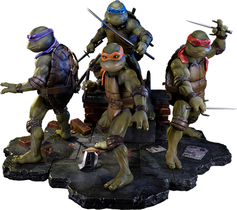 Prime 1 Studio Teenage Mutant Ninja Turtles Polystone Statue