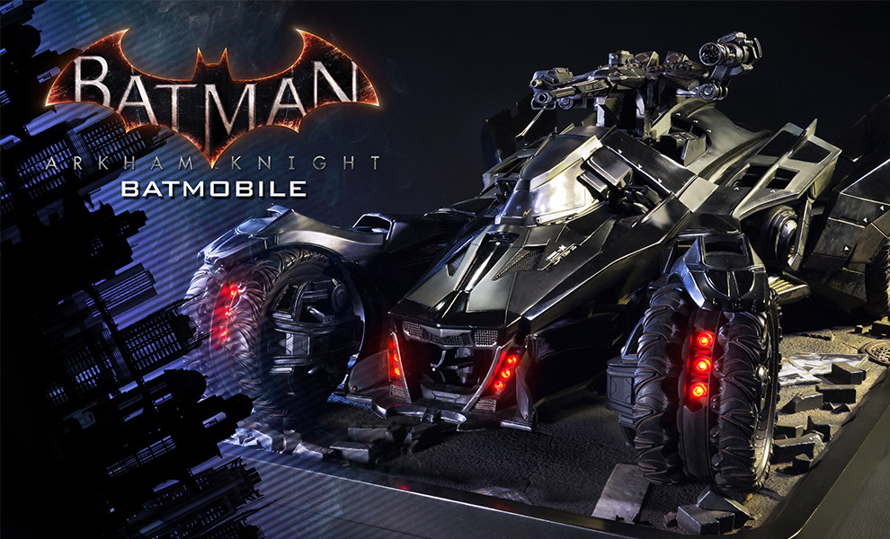 Gallery Feature Image of Batmobile Polystone Diorama - Click to open image gallery