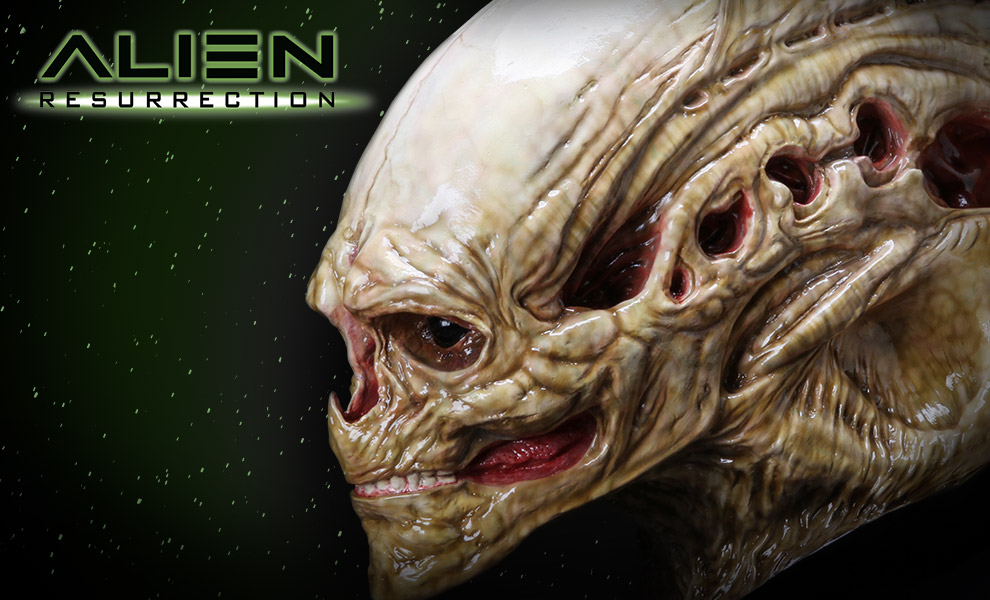 Gallery Feature Image of Alien Newborn Life-Size Head Prop Replica - Click to open image gallery