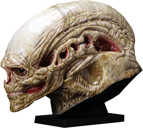 CoolProps Alien Newborn Life-Size Head Prop Replica