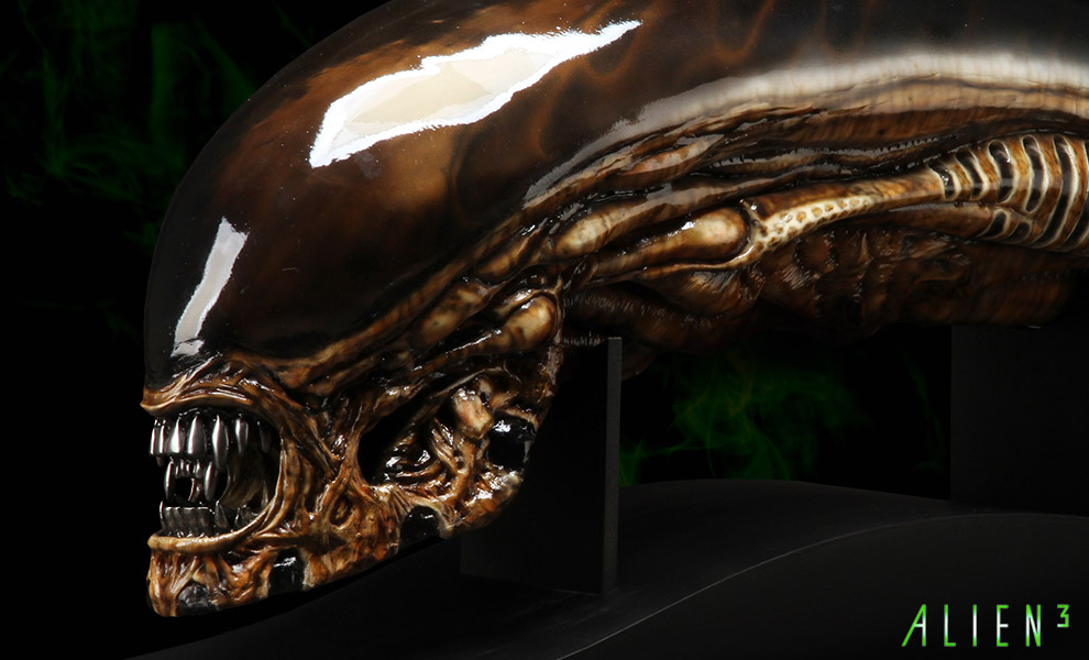 Gallery Feature Image of Dog Alien Life-Size Head Prop Replica - Click to open image gallery