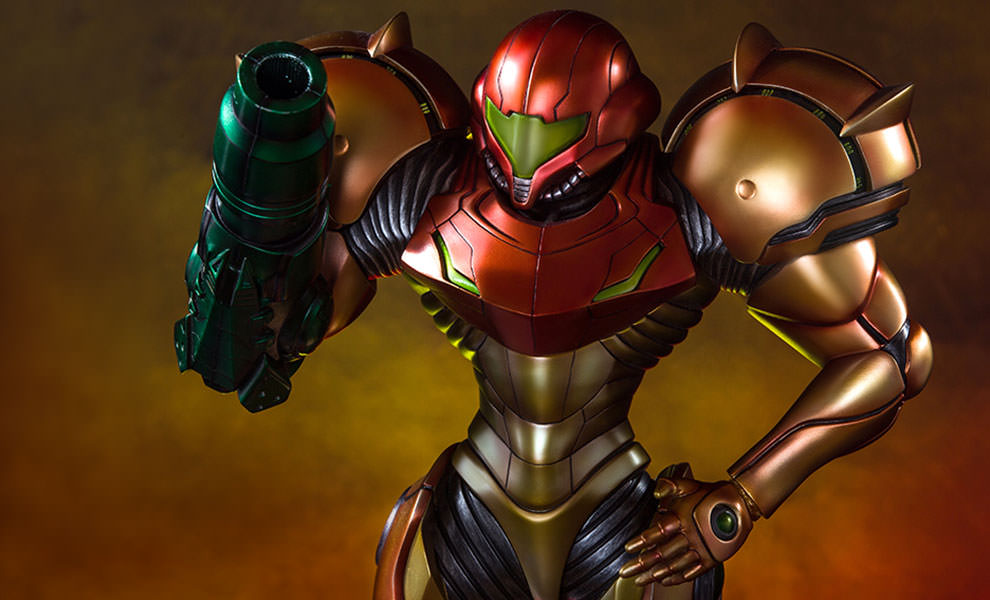 Gallery Feature Image of Samus Varia Suit Statue - Click to open image gallery
