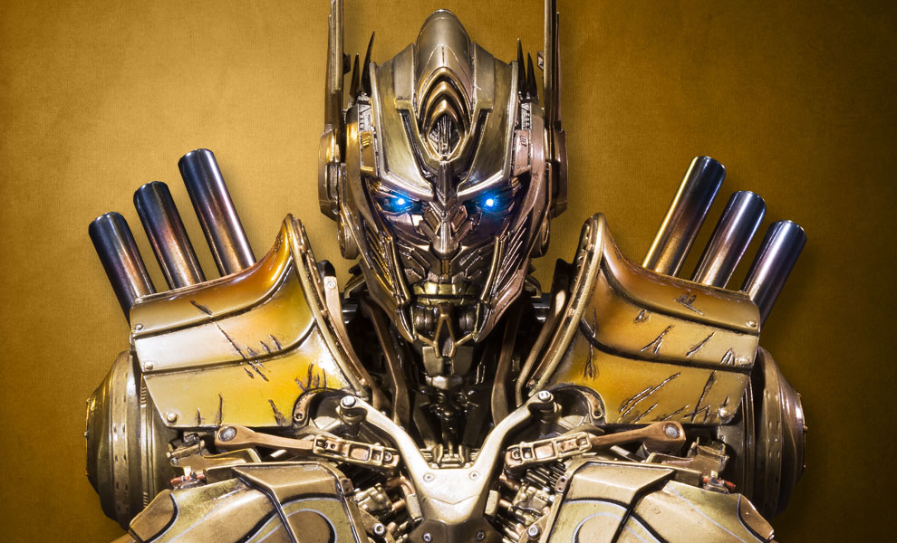 Gallery Feature Image of Optimus Prime Gold Version Bust - Click to open image gallery
