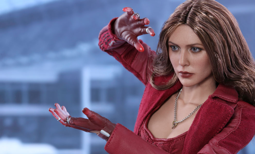 Gallery Feature Image of Scarlet Witch Sixth Scale Figure - Click to open image gallery