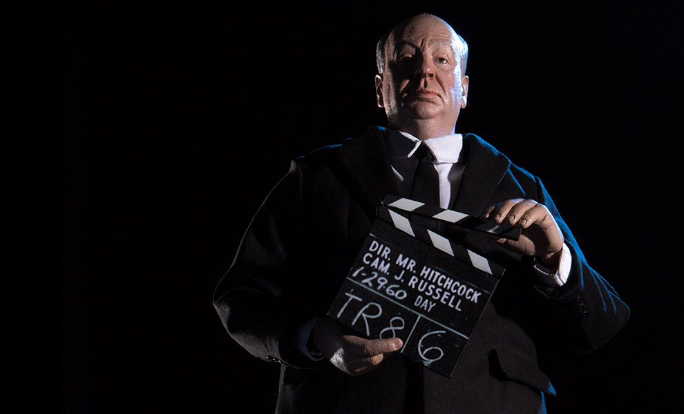 Gallery Feature Image of Alfred Hitchcock Sixth Scale Figure - Click to open image gallery