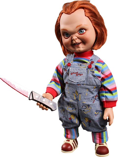 Mezco Toyz Talking Sneering Chucky Collectible Figure