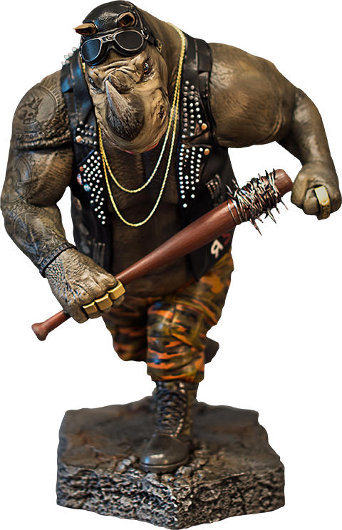 Vault Productions Rocksteady Statue