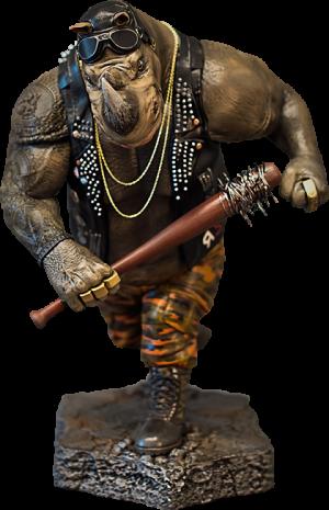 Rocksteady Statue