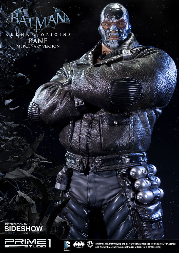 Bane Mercenary Version Statue Arkham Origins Prime 1 Sideshow Collectibles