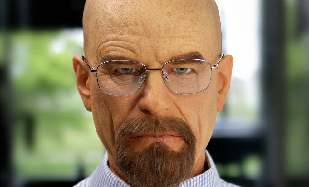 Gallery Feature Image of Walter White Life-Size Bust - Click to open image gallery