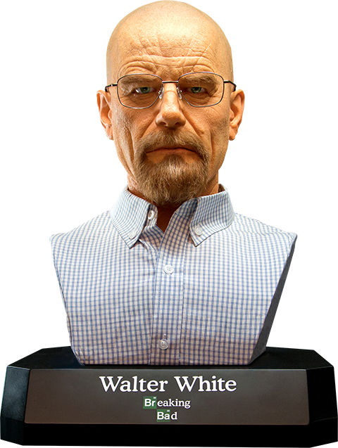 Supacraft Walter White Life-Size Bust