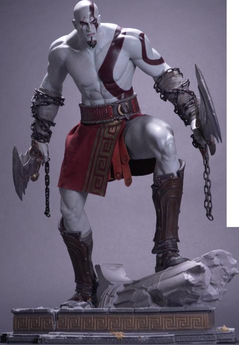 PlayStation God of War: Ascension Kratos Statue