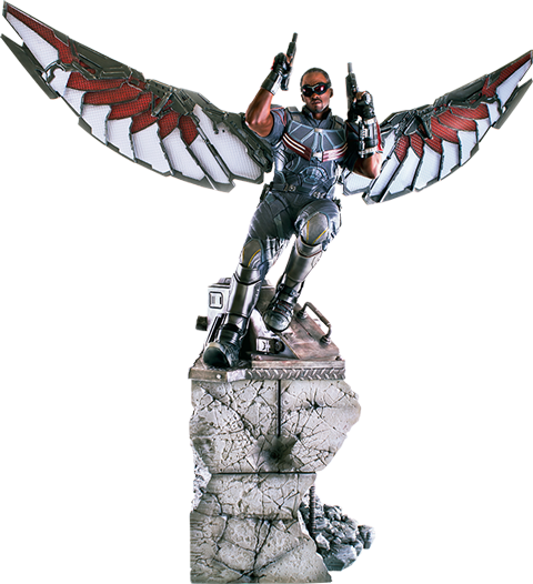 Iron Studios Falcon Polystone Statue