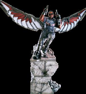 Falcon Polystone Statue
