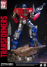 Gallery Image of Optimus Prime Transformers Generation 1 Statue