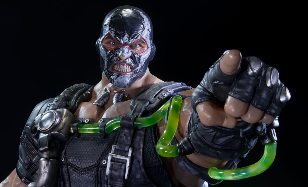 Gallery Feature Image of Bane Venom Version Polystone Statue - Click to open image gallery