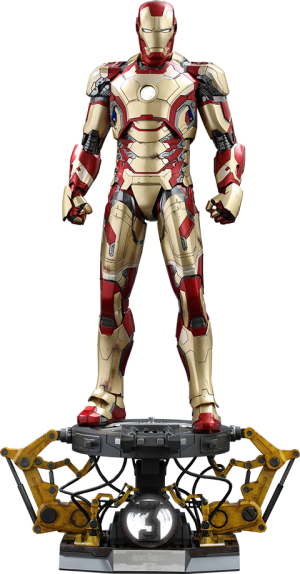 Iron Man Mark XLII Deluxe Version Quarter Scale Figure