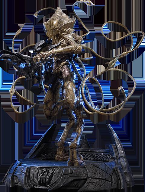 Prime 1 Studio Alien Soldier Polystone Statue