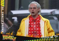 Gallery Image of Dr Emmett Brown Sixth Scale Figure