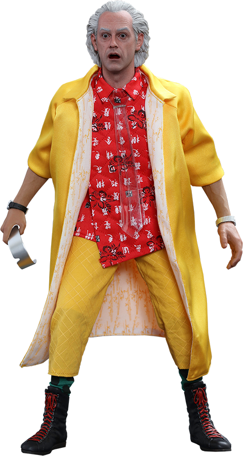Hot Toys Dr Emmett Brown Sixth Scale Figure