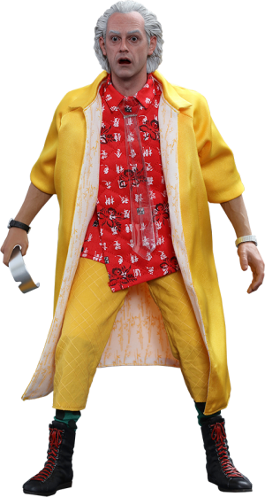 Dr Emmett Brown Sixth Scale Figure