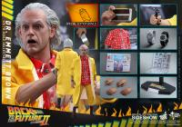 Gallery Image of Dr. Emmett Brown Sixth Scale Figure