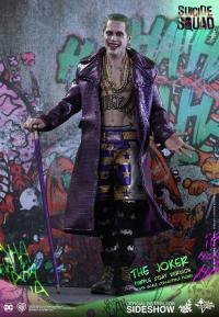 Gallery Image of The Joker Purple Coat Version Sixth Scale Figure