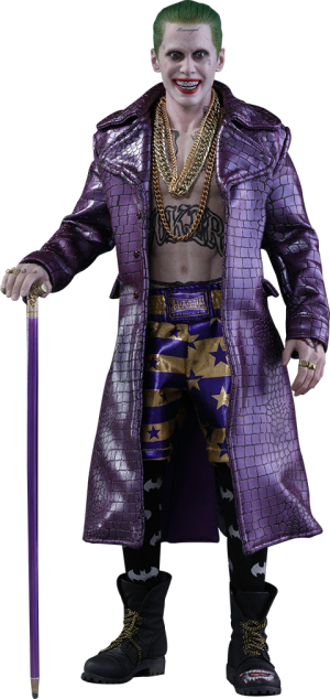 The Joker Purple Coat Version Sixth Scale Figure