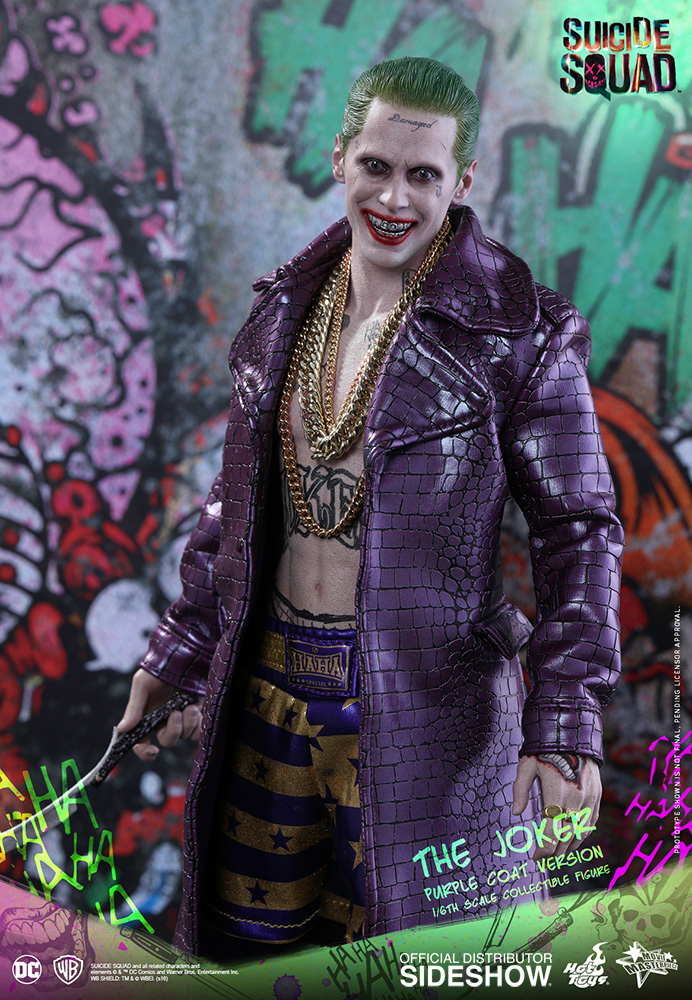 Dc Comics The Joker Purple Coat Version Sixth Scale Figure B