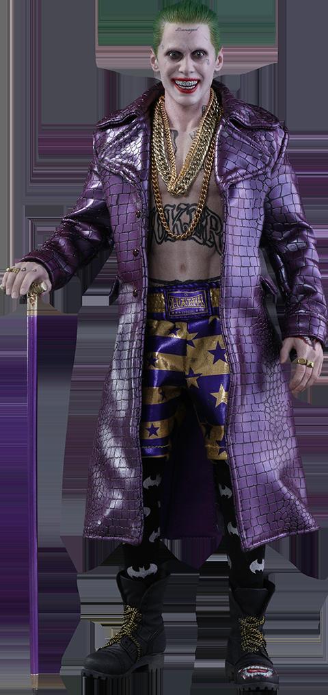 Hot Toys The Joker Purple Coat Version Sixth Scale Figure