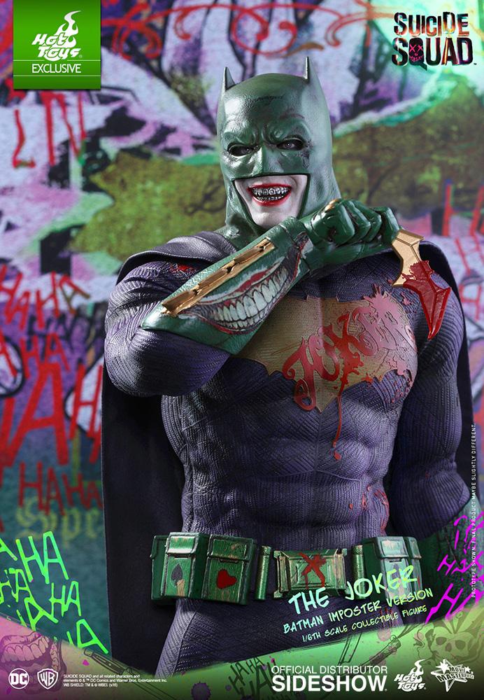 Suicide Squad The Joker Batman Imposter Version Crazy Toys 1//6 Figure New In Box