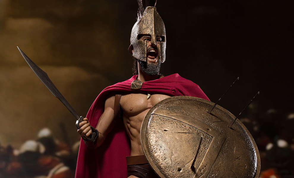 Gallery Feature Image of King Leonidas Sixth Scale Figure - Click to open image gallery