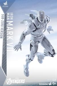 Gallery Image of Iron Man Mark VII Sub-Zero Version Sixth Scale Figure