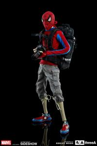 Gallery Image of Peter Parker and Spider-man Sixth Scale Figure